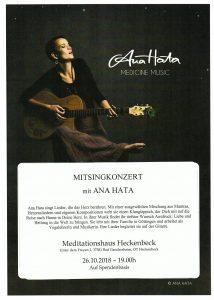 Ana Hata - Mitsingkonzert