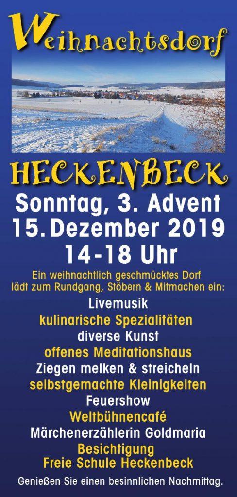 Weihnachtsdorf in Heckenbeck